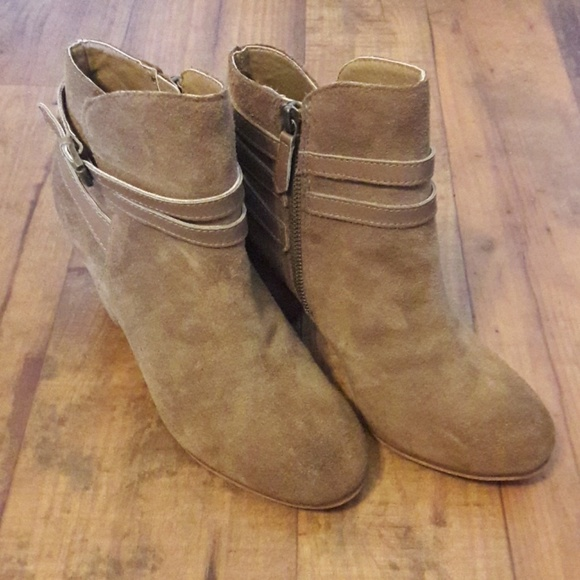 97c48a812eb Nordstrom Shoes - Nordstrom BP Brand Tan Suede Booties